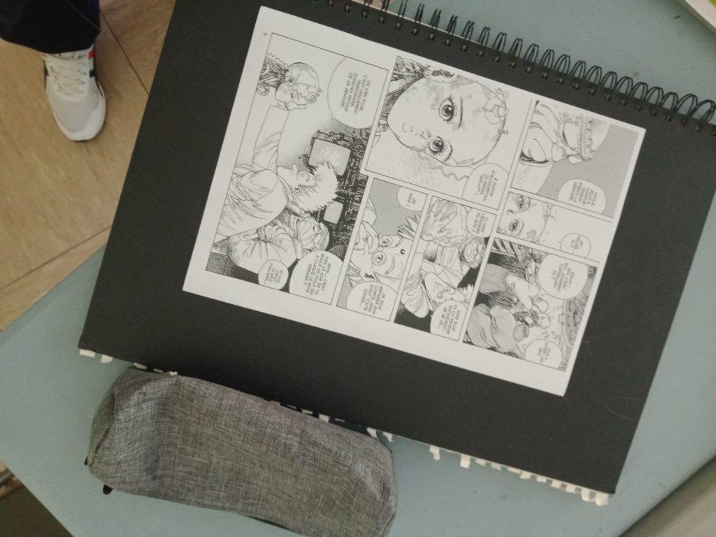 Nos productions de manga
